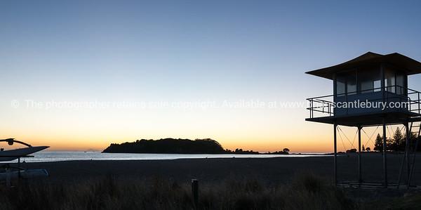 Sunrise at Mount Maunganui.
