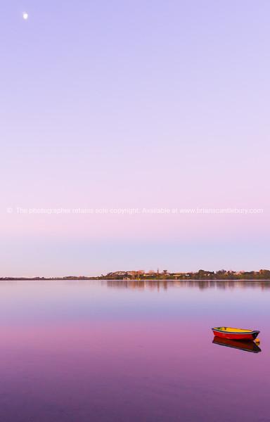 Sunset over Tauranga harbour (4 of 8)