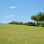 Papamoa hills, landscape on Summerhill Golf Course.