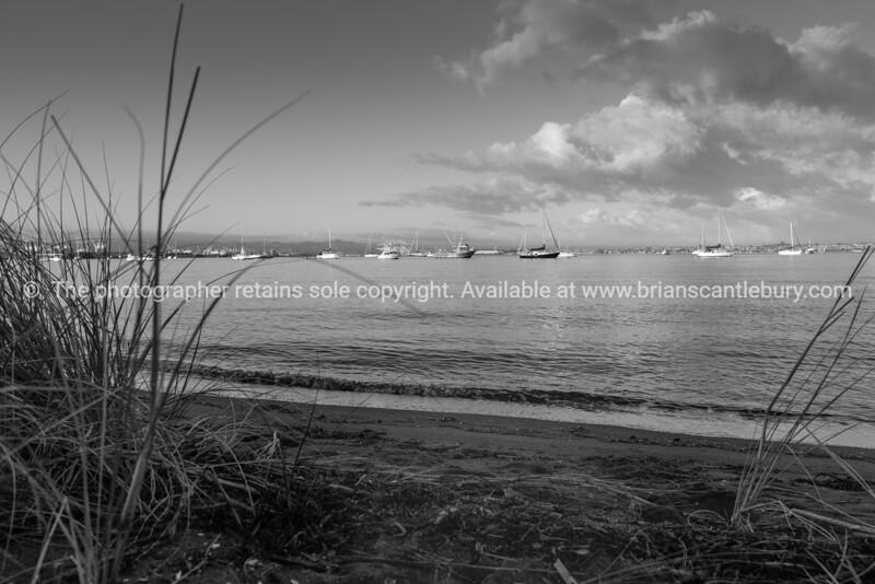 Tauranga harbour from Pilot Bay Mount Maunganui