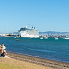 Giant cruise ship Celebrity Solstice