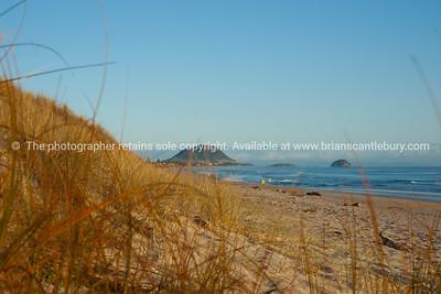 Papamoa beach scene