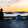 Tauranga waterfront at dawn.