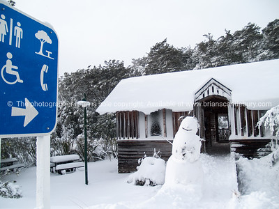 Snow shelter, Mount Ruapehu.