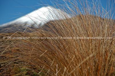 Tongariro National Park, mountain scenery