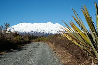 Mount Ruapehu, Tongariro National Park, World Heritage Site.