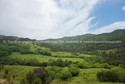 Scenic Tora. New Zealand Image.
