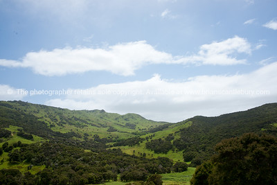 Scenic New Zealand, the Wairarapa back country, Tora. New Zealand Image.