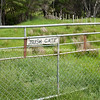 Gate. Wairarapa back country farmland. New Zealand images.