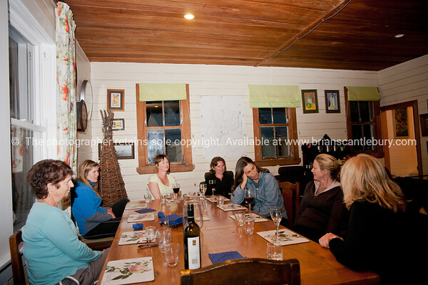 Talking. New Zealand images.
