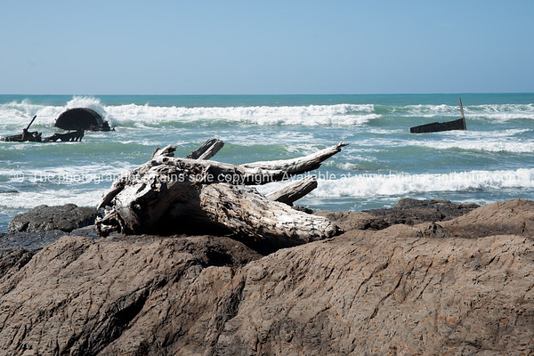 Rocky Tora Beach. New Zealand images.