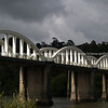Bridge arches. New Zealand photographic stock images. An arch, road bridge in Franklin County. New Zealand images, downloads, prints.