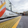 Kiwi Rail Northern Explorer tourist train stopped at Frankton Station en-route to Wellingtom from Auckland.