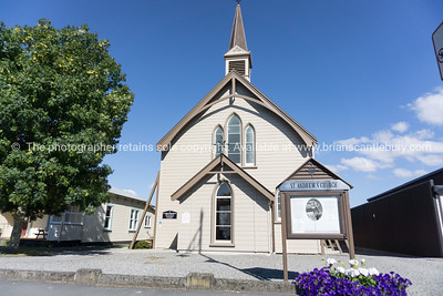 St Andrews wooden church Greytown