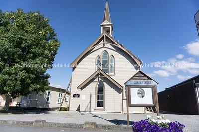 St Andrews wooden church Greytown