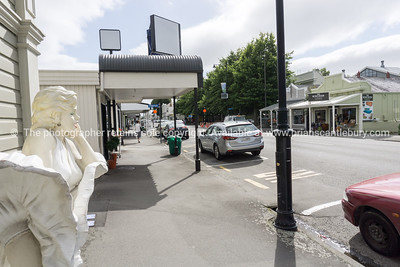 Greytown Main Street shops and display