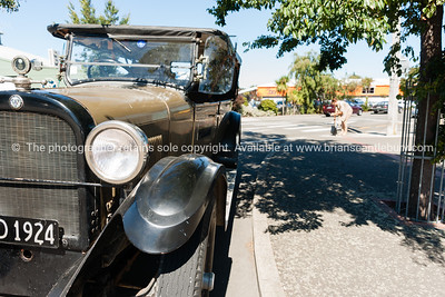 Vintage Buick car in Martinborough