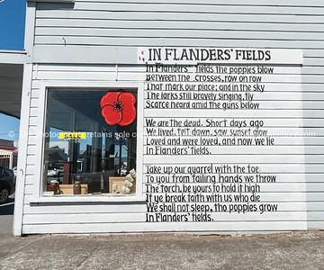 Poem by John McCrae In Flanders Fields