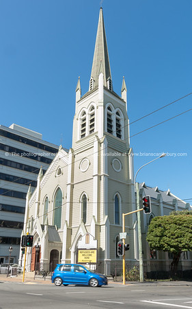St Peter's on the corner of Willis and Ghuznee Streets Wellinton New Zealand