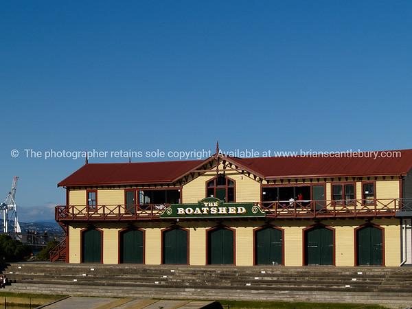 Boatshed Restaurant Wellington.