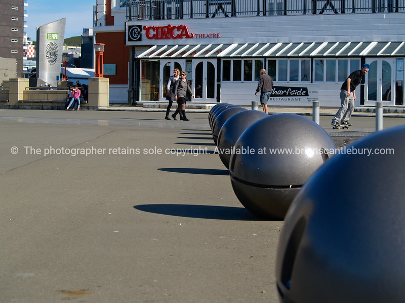 Wellington waterfront walk and public space