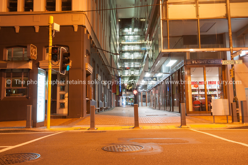 Chews Lane city lane and lights and scenes in middle of city Wellington New Zealand
