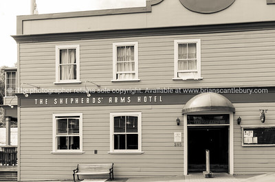 Wellington architecture Shepherd's Arms Hotel in Tinakori.