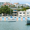 Oriental Bay Boat sheds Wellington New Zealand