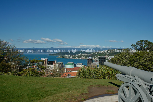 Cannon above Wellington.