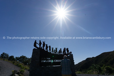Rimutaka Crossing Memorial Commemorating the march that 60,000 of New Zealand's First World War troops made over the Rimutakas from Featherston Camp to Upper Hutt with a re-enactment march and a memorial.
