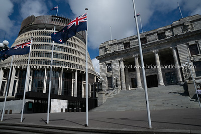 Wellington stock photography , Capital City. New Zealand. South Pacific.