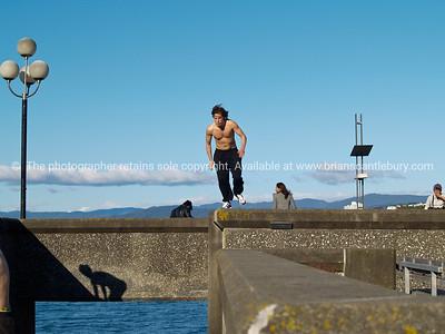 Parkour in Wellington