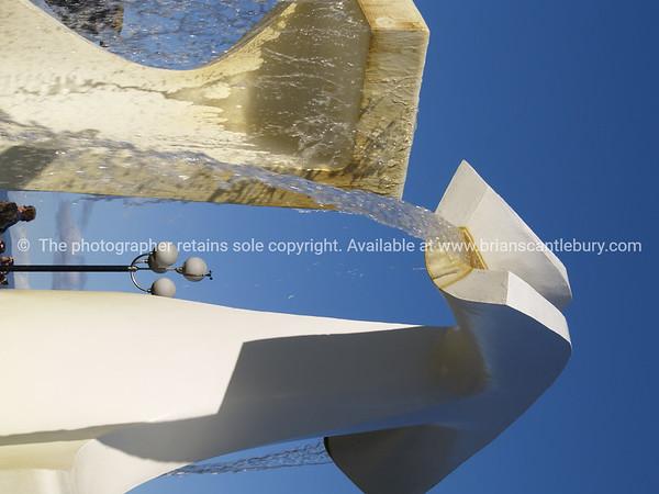 Albatross, public artwork sculpture, Wellington.