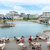 Enjoying the waterside outdoors Wellington New Zealand