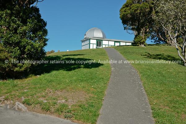 Carter Observatory in Wellington Botanical Gardens