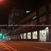 Xero dark building exterior office lights in widows on Wakefield Street  Wellington New Zealand