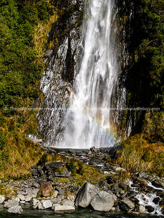 Waterfalls are a significant natural feature on New Zealands West Coast. South Island