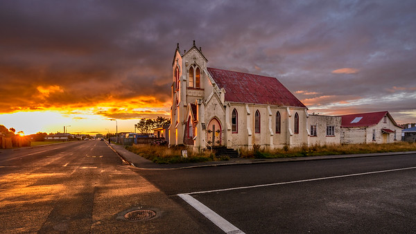 Abandoned Church, Invercargill