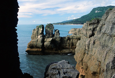Punakaiki (pancake) Rocks, Paparoa National Park, West Coast, South Island