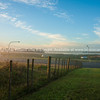 Misty morn near Auckland Airport.