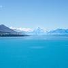 Lake Tekapo, in Canterbury's Mackenzie Basin, New Zealand.