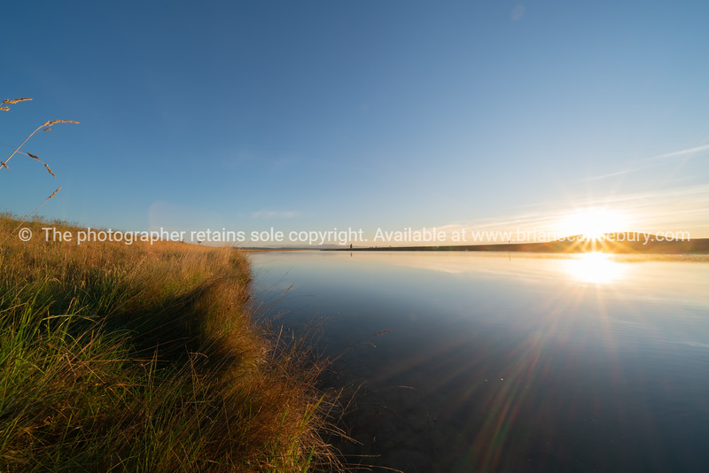 Still morning at sunrise along Ohau Canal just outside Twizel