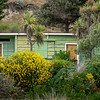 Holiday home batches on beach at Taylors Mistake bay