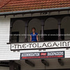 Tolaga Bay Inn. Historic hotel.  New Zealand images.