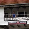 Tolaga Bay Inn. Historic hotel.  New Zealand images.