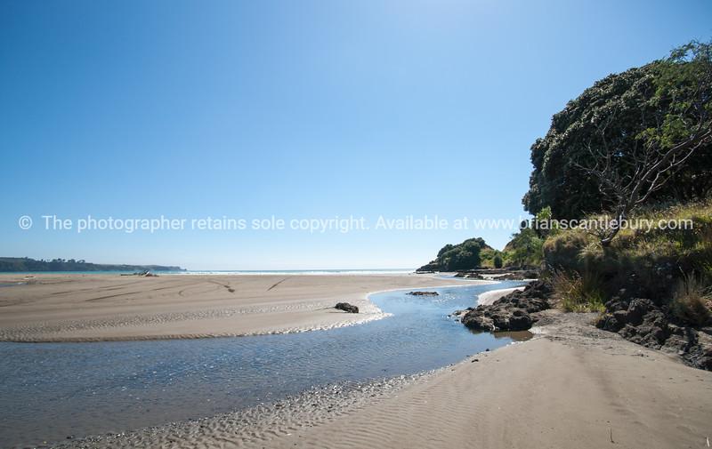 Te Araroa beachfront. New Zealand images.