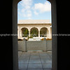 Italian Garden through arch.