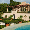 Traditional Italian garden.
