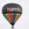 Hamilton Balloon against white background.