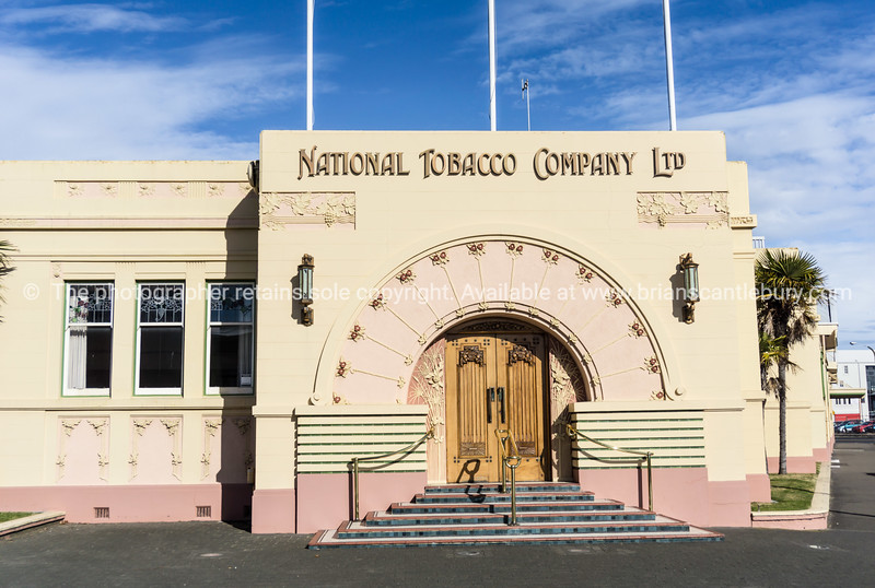 National Tabacco Company art deco building, Napier, NZ